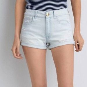 American Eagle Highrise Jean Shorts